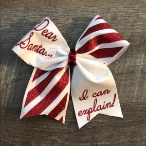 accessories two christmas cheer bows